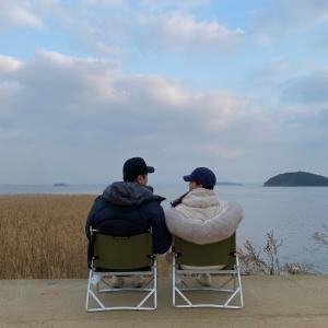 江華島(강화도)で車中泊キャンプ