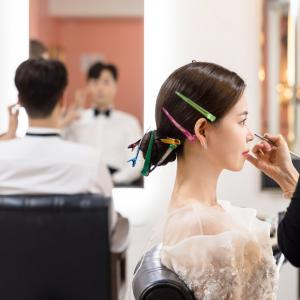 コロナ禍の結婚式in韓国【コロナ対策/ヘアメイク】