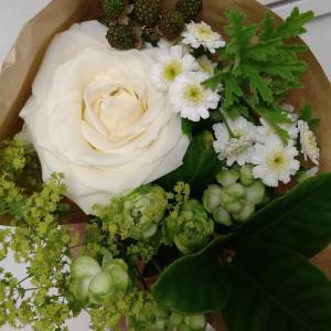 お花とチョコレート