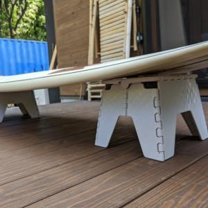 たった500円でサーフボードスタンドを簡単に自作した方法を解説