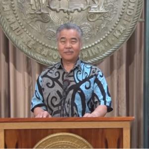 ハワイへの最初の旅行者は日本の可能性があります by イゲ知事