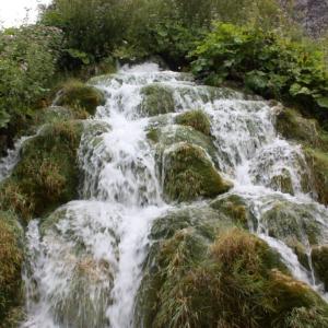 クロアチアのプリトビチェ湖群国立公園への移動
