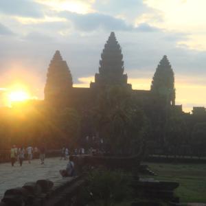 カンボジア到着後