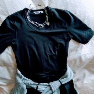 50代にも似合うTシャツ ユニクロで