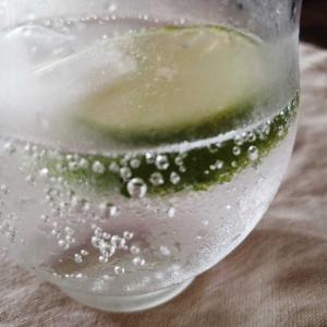 ジメジメした日は炭酸水。レモンとともに