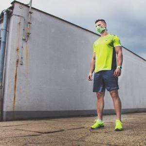踏み台昇降で低酸素トレーニング(;´Д`)ハァハァ