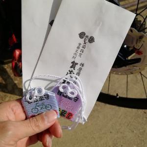 自転車お守りと牡蠣フライド〜たつの市室津の港と賀茂神社へ〜