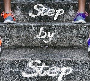 それぞれのステージのなかには超えるステップがある☆