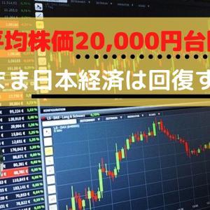 日経平均株価が20,000円台を回復。今後の国内経済見通しを読み解く。