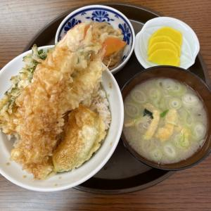 天丼専門店 ふらわー FLOUR で満足天丼