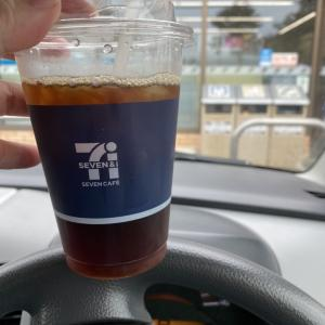 セブンの、エンドレスコーヒー たまにおにぎり