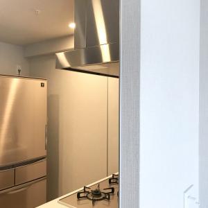 冷蔵庫横のすき間活用