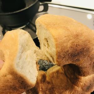ビニール袋で基本の食パン