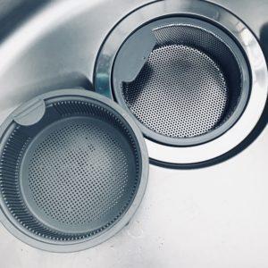 セリアのキッチン排水口のゴミ受け。