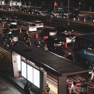 【ジャカルタの交通規制】ナンバープレートの「偶数奇数」で制限【区画と時間も】