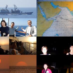 海賊対策、自衛艦護衛。南十字撮影会/PB101⑳