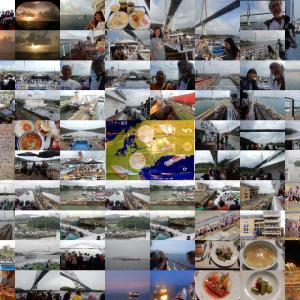 パナマ運河通航 全閘門 記念写真撮り/PB101(60)
