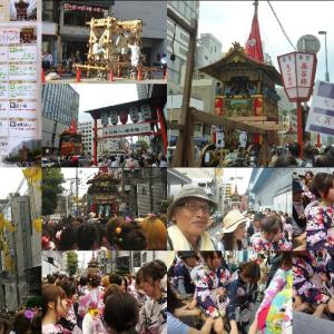 祇園祭2018鉾曳き初め 函谷鉾 鶏鉾 回顧版