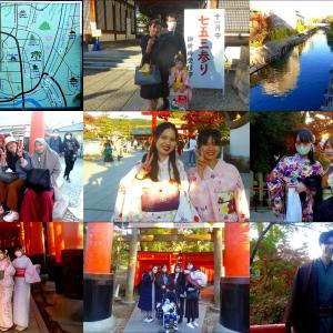 洛南、京橋、伏見稲荷 紅葉、美人撮り巡り