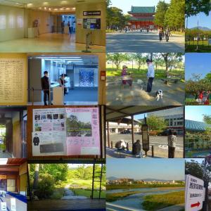 四条、工芸展、岡崎、蹴上、二条駅 花と展覧会