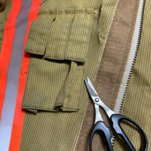 消防服のリメイクの件