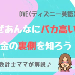 DWE(ディズニー英語)が高い理由を会計士ママが分析!料金の裏側を知ろう!