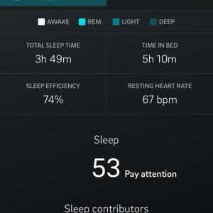 幸せと睡眠量