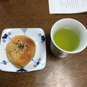 緑豆餡でアンパン。果たして?