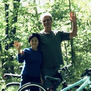ニューヨーク郊外の森林でマイナイオン注射!