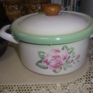 ほうろうの鍋で、ブルーベリージャム作ります!