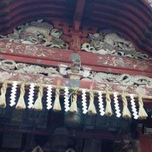 浅間神社に初詣