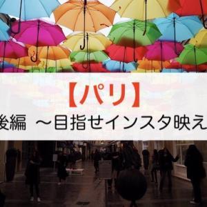 【パリ】ヨーロッパ周遊記7 後編 〜目指せインスタ映え〜