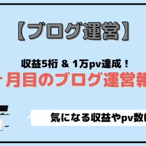 """【ブログ運営】""""収益5桁&1万pv達成"""" 9ヶ月目の運営報告"""