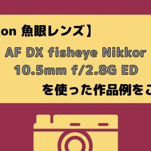AF DX fisheye Nikkor 10.5mm f/2.8G ED を使った作品例