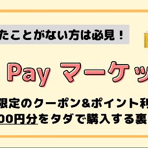 【au PAY マーケット】初回購入クーポン&ポイントで1,000円分が無料に!