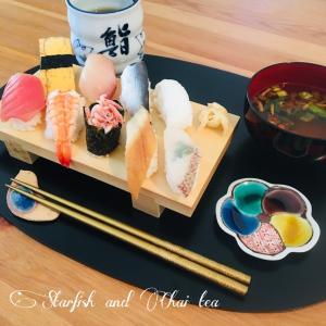 自宅でお寿司