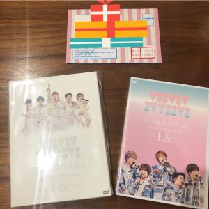 【DVD】「L&」配信LIVE DVD発売日2日前にフラゲ✨&娘にキンプリからバースデーカード💕