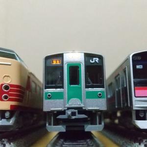 KATOの701系仙台色が今になって入線。