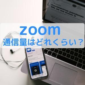 【Zoomで会議】通信量はどれくらい?実際に測って分かった通信量の減らし方