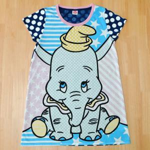 ディズニーストア☆ダンボの「Big Dots チュニックTシャツ」大きく描かれたダンボと水玉のポップなデザインが魅力☆