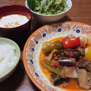 【簡単!ラタトゥイユ&かぼちゃスープ】炒めて煮る+煮てのばす!