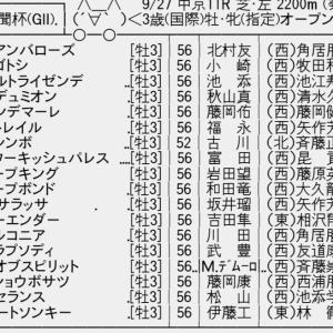 【競馬】【神戸新聞杯・オールカマー】今週の競馬スレ【スプリンターズS・シリウスS】