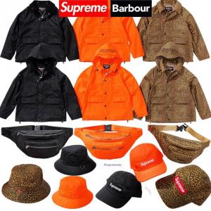 Supreme × Barbour 2020SS Week11 国内公式通販サイトで5月9日発売 新作アイテム一覧・価格・海外完売タイム