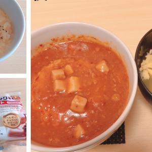 8/26 麻婆丼と卵スープ