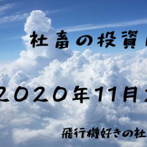 社畜の投資日記 2020年11月23日