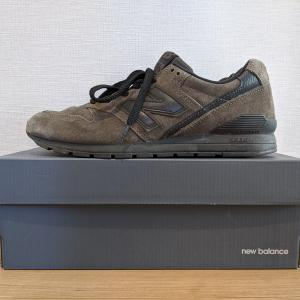 ニューバランスの新定番「CM996」を購入レビュー。サイズ感や履き心地を紹介。