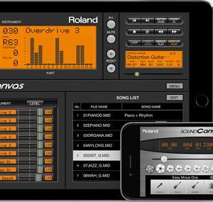 【悲報】Roland-Sound  Canvas for iOSがApp Store配信終了していた!