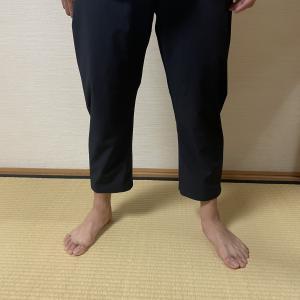 クライミングパンツを裾上げで八分丈に改造!裾上げテープで縫わずに簡単に!