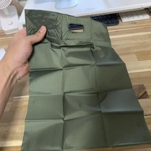 コンビニでちょい買いのサラリーマンにとって必要最小限で最高にちょうどイイ大きの「超コンパクトエコバッグ」を購入!!
