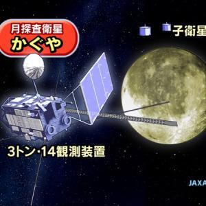 月から流失する炭素!
